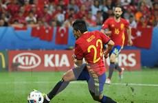 Nolito đi vào lịch sử bóng đá Tây Ban Nha tại các giải EURO