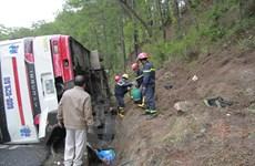 Hai xe du lịch đâm nhau trên đèo Prenn, 7 người chết tại chỗ