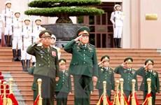 Đính chính tin Tăng cường hợp tác quốc phòng giữa hai nước Việt-Lào