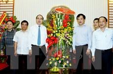 Chủ tịch MTTQ thăm, chúc mừng Cổng thông tin điện tử Chính phủ