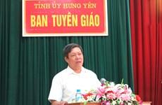 Ông Đỗ Xuân Tuyên làm Phó Bí thư thường trực Tỉnh ủy Hưng Yên
