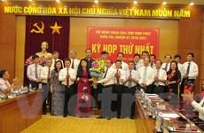 Vĩnh Phúc bầu chức danh Chủ tịch HĐND và Chủ tịch UBND tỉnh