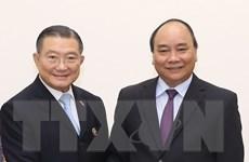 Thủ tướng Nguyễn Xuân Phúc tiếp Chủ tịch Tập đoàn TCC Thái Lan