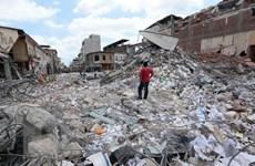 Miền Bắc Ecuador lại hứng chịu động đất mạnh 6,4 độ Richter
