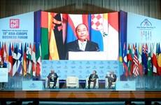 Thủ tướng Nguyễn Xuân Phúc dự Diễn đàn Doanh nghiệp Á-Âu lần thứ 15