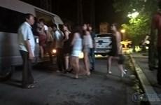 Đột kích quán bar lớn nhất Thanh Hóa, bắt giữ hàng chục đối tượng