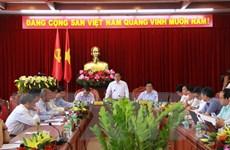 Trưởng Ban Tổ chức Trung ương Phạm Minh Chính làm việc tại Đắk Lắk