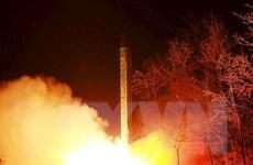 Một trong ba quả tên lửa của Triều Tiên đã phát nổ do trục trặc