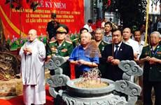 Khánh thành Công trình tưởng niệm liệt sỹ Mặt trận 479