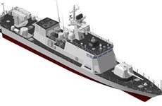 Hải quân Hàn Quốc hạ thủy tàu tuần tra mới đối phó với Triều Tiên