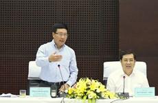 Phó Thủ tướng Phạm Bình Minh kiểm tra việc chuẩn bị APEC tại Đà Nẵng