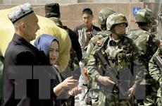 Tân Cương ban hành luật chống khủng bố địa phương đầu tiên