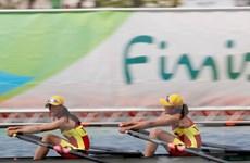 Chèo thuyền nữ Việt Nam được vào vòng bán kết Olympic