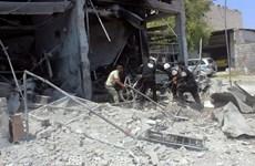 Máy bay ném bom Nga không kích một loạt mục tiêu ở Syria