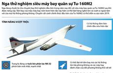 [Infographics] Nga thử nghiệm siêu máy bay ném bom Tu-160M2