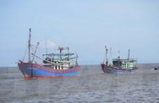 Cứu thành công 6 ngư dân bị chìm tàu trên vùng biển Cà Mau