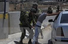 Palestine: 4 người bị thương trong các cuộc không kích của Israel