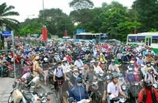 Phân luồng giao thông nhằm giảm ùn tắc tại cửa ngõ Tân Sơn Nhất