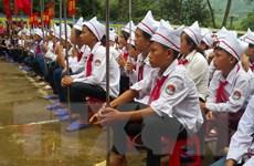 """95% học sinh """"rốn lũ"""" Lào Cai khai giảng sau muôn vàn khó khăn"""