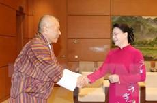 Chủ tịch Quốc hội Nguyễn Thị Kim Ngân tiếp Chủ tịch Quốc hội Bhutan