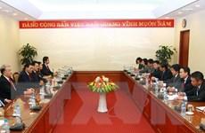 Tổng Bí thư Đảng Lao động Mexico thăm Thông tấn xã Việt Nam