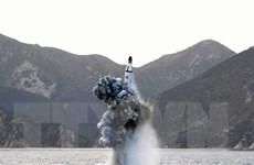 Nhật-Mỹ-Hàn họp trực tuyến về vụ Triều Tiên phóng 3 tên lửa