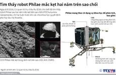Bất ngờ tìm thấy robot Philae mắc kẹt hai năm trên sao chổi