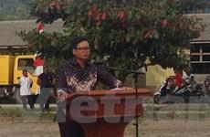 Indonesia tổ chức lễ trao trả ngư dân Việt Nam trên biển