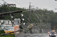 Siêu bão Meranti cực mạnh quét qua Đài Loan gây mưa to, gió lớn