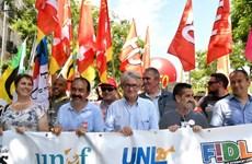 Người biểu tình phản đối cải cách lao động của chính phủ Pháp