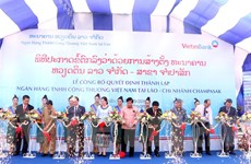 Khai trương một chi nhánh của Ngân hàng Công thương VN tại Lào