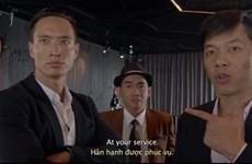 """Minh Thuận xuất hiện trong trailer phim """"Vệ sỹ Sài Gòn"""""""