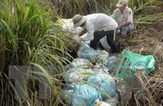 Hòa Bình xác minh vụ chôn lén rác thải y tế trong khuôn viên bệnh viện