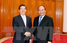 Thủ tướng Nguyễn Xuân Phúc tiếp Bộ trưởng Bộ Công an Trung Quốc