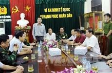 Thủ tướng gửi thư khen thành tích bắt nghi phạm vụ thảm sát
