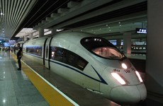 Đường sắt cao tốc Thái Lan-Trung Quốc sẽ khởi công vào tháng 12