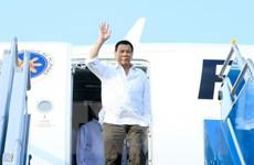 Tổng thống Philippines kết thúc tốt đẹp chuyến thăm Việt Nam