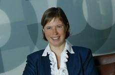Bà Kersti Kaljulaid là nữ tổng thống đầu tiên của Estonia