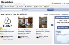 """Facebook trình làng tính năng """"Chợ trực tuyến-Marketplace"""" mới"""