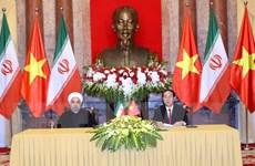 Tổng thống Iran kết thúc tốt đẹp chuyến thăm cấp Nhà nước tới Việt Nam