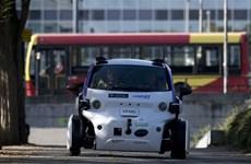 Anh lần đầu thử nghiệm ôtô không người lái để đưa vào lưu thông