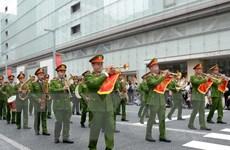 Việt Nam tham dự Đại nhạc hội Cảnh sát thế giới tại Nhật Bản