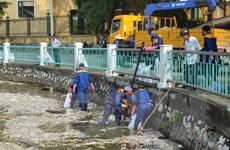Chỉ đạo xử lý nghiêm những trường hợp xả thải ra Hồ Tây
