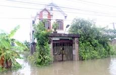 [Photo] Hình ảnh nước lũ ngập mênh mông khắp miền Trung