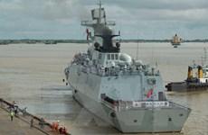 Đội tàu hải quân Trung Quốc thăm Campuchia nhằm thúc đẩy quan hệ