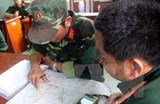 Tổ chức tìm kiếm trực thăng mất tích tại 4 khu vực trên núi Dinh