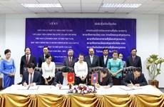 Việt Nam và Lào tăng cường hợp tác trong lĩnh vực khoa học
