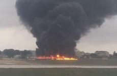 Máy bay gặp nạn ở Malta không phải do Frontex triển khai