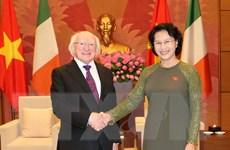 Chủ tịch Quốc hội Nguyễn Thị Kim Ngân tiếp Tổng thống Ireland