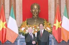 Chủ tịch nước Trần Đại Quang chiêu đãi chào mừng Tổng thống Ireland